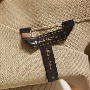 BCBG M MaxAzria tan bandage skirt